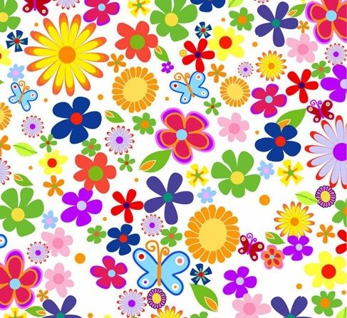 Free Spring Flowers Background PSD Files Vectors Graphics
