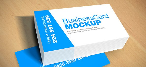 Free business card mockup psd psd files vectors graphics 365psd reheart Image collections