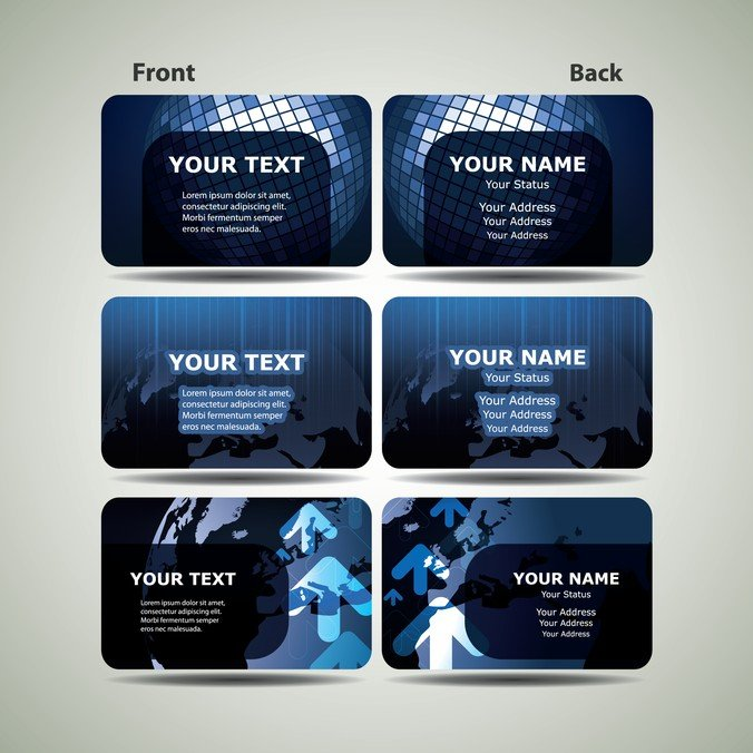 Free blue technology business card template 01 psd files vectors free blue technology business card template 01 psd files vectors graphics 365psd wajeb Choice Image