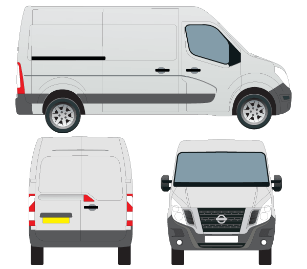 Nissan Nv400 Van Vector Outline Vector Graphic 365psd Com