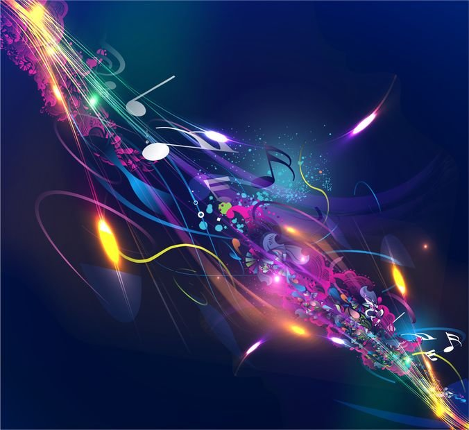 Grafiche Vettoriali E File Psd Gratuiti Di Abstract Music Design
