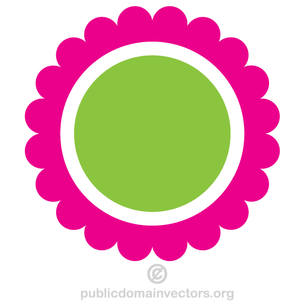 Vector Png Circle Circle Flower Vector Vector