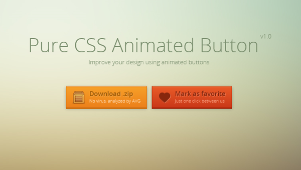 CSS Animated Buttons