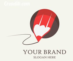 Vector pencil icon for your logo brand