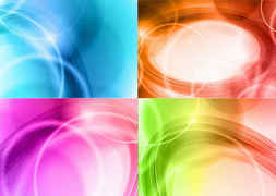 Vector Set of Abstract Background