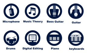 Free Music Icons Vector Set