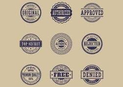 Free Commercial Grunge Rubber Stamps