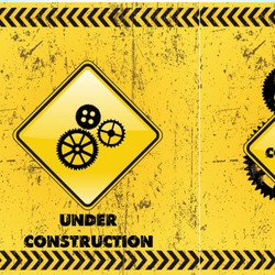 Under Construction Backgrounds Vectors