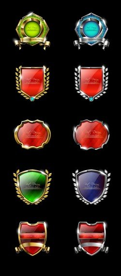 High Quality Badge Vector 2