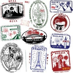 World Landmarks Seal 04