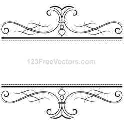 Calligraphy Ornamental Frame