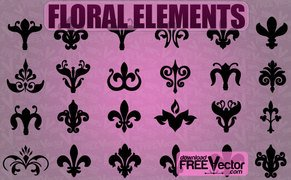 24 Free floral flowers