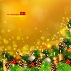 Beautiful Christmas theme elements vector-11