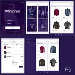 Online Store Design Concept - Free PSD