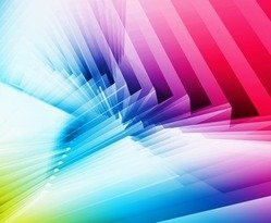 Rainbow Colorful Background Abstract Design