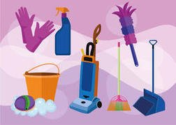 Cleaning Service Vectors