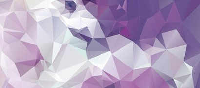 Purple Polygonal Abstract Background