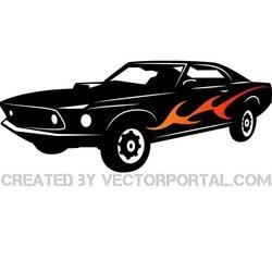 SPORTS VEHICLE VECTOR IMAGE.eps