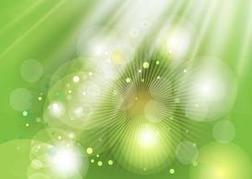 Green Light Background Image