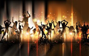 Colorful Background Dance