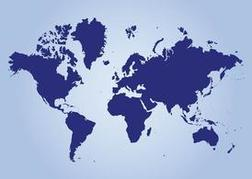 Continents Map