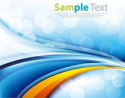 Abstract Blue Background Vector Art