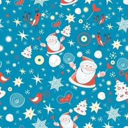 Merry Christmas Design Seamless Background