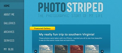 PhotoStriped WordPress Theme