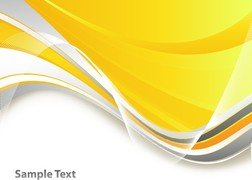 Bright Yellow Line Text Box Vector 1