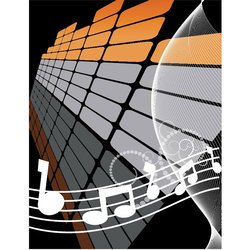 MUSIC ABSTRACT VECTOR BACKGROUND.eps