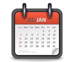 Vector illustration of calendar icon