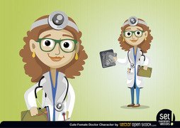 Female Doctor Character
