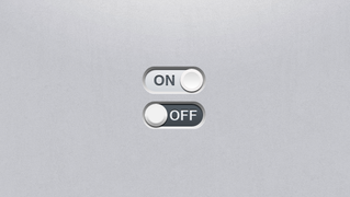 Matte Toggle Switch PSD