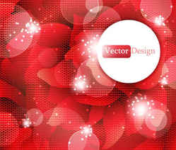 Beautiful grid red background