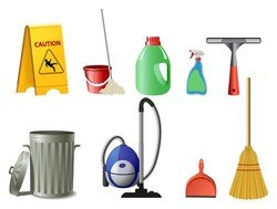 fine cleaning icon