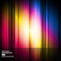 Colorful Glowing Background with Lines