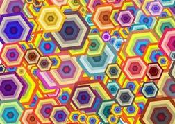 Hexagons Background