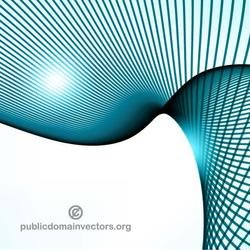 SWIRLING BLUE LINES VECTOR IMAGE.eps