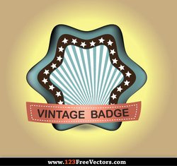 Retro Vintage Badge