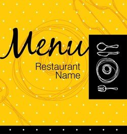 Exquisite Menu Cover 05
