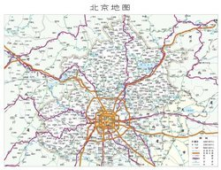 Map of Beijing ai cdr material