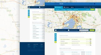 Location Find - free website template