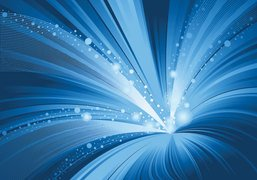 Abstract Whirl Blue Background