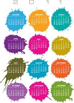Calender For 2011