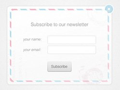 Newsletter form