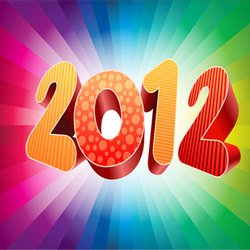 Colorful 2012 Backgrounds