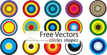 Free Vector Circle Shapes