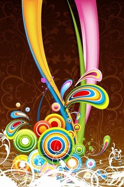 Floral Colorful Background 2