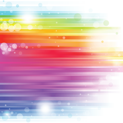 Abstract Colored Rainbow Background