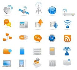 Wireless and Communication Icon